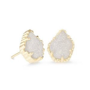Kendra Scott gold Tessa stud earrings